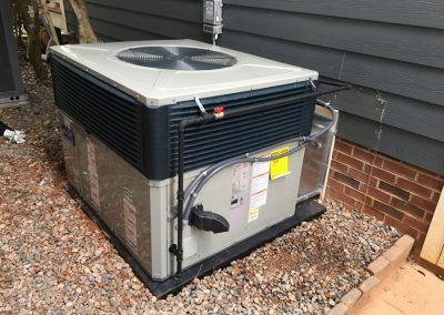 Home heating and air conditioning service